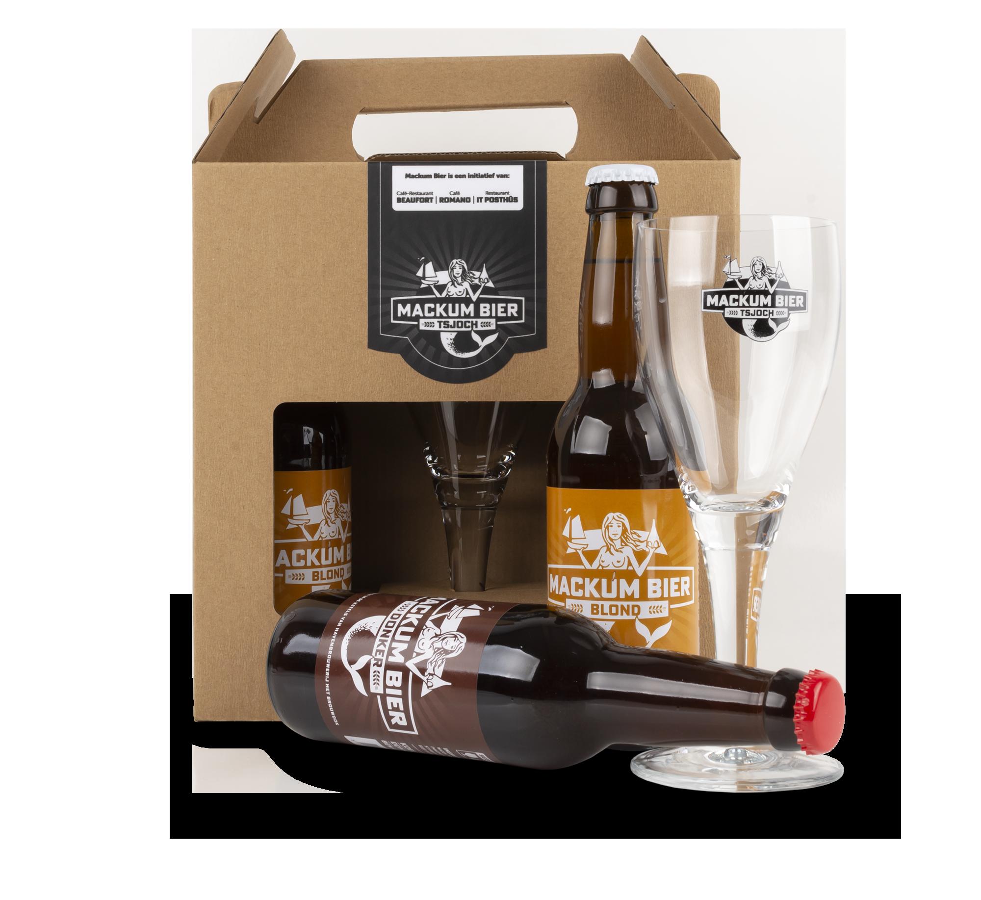 Mackum Bier is een authentiek gebrouwen bier met een flinke doses Makkumer karakter